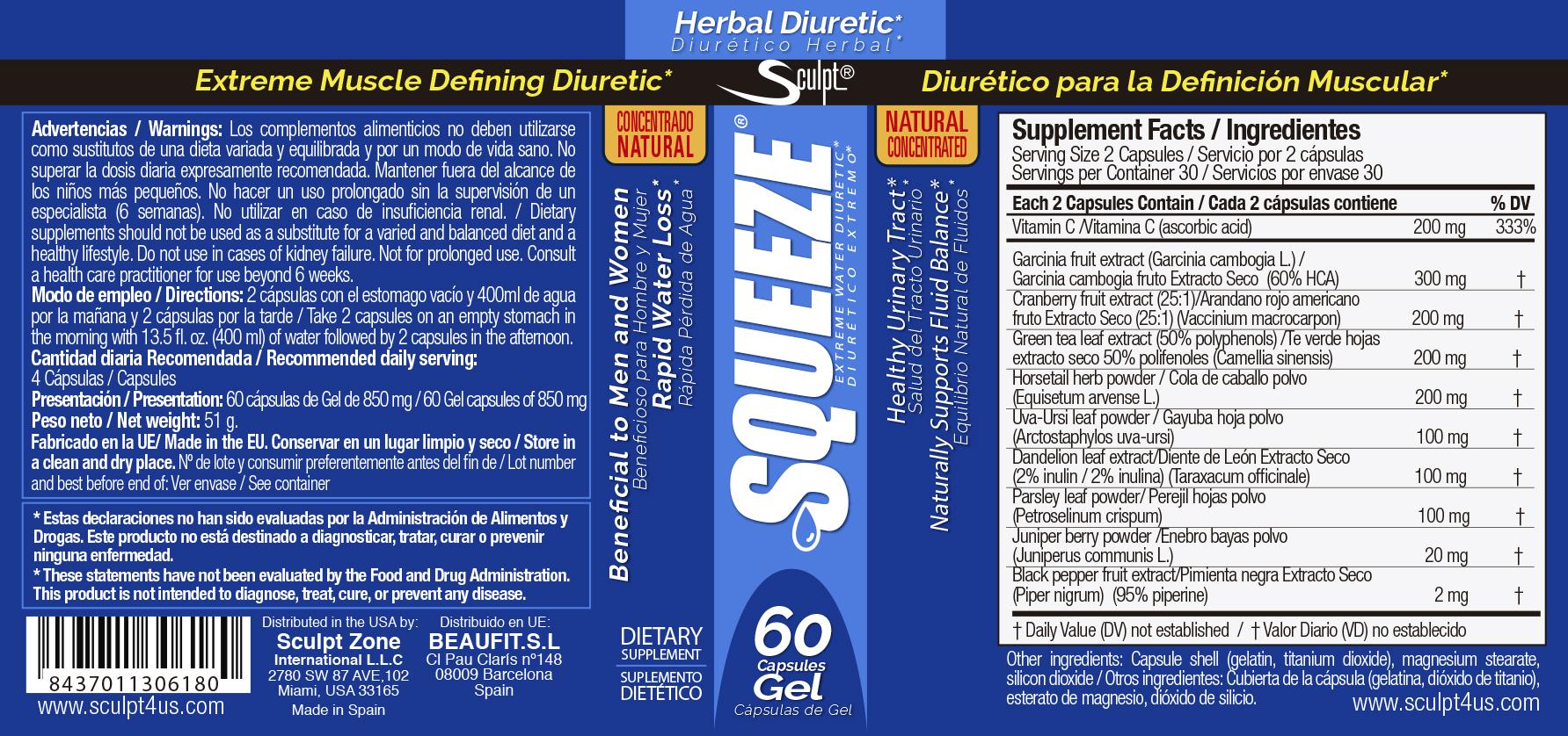 squeeze diuretic