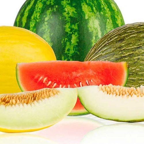 Sandía y melón, las vitaminas del verano