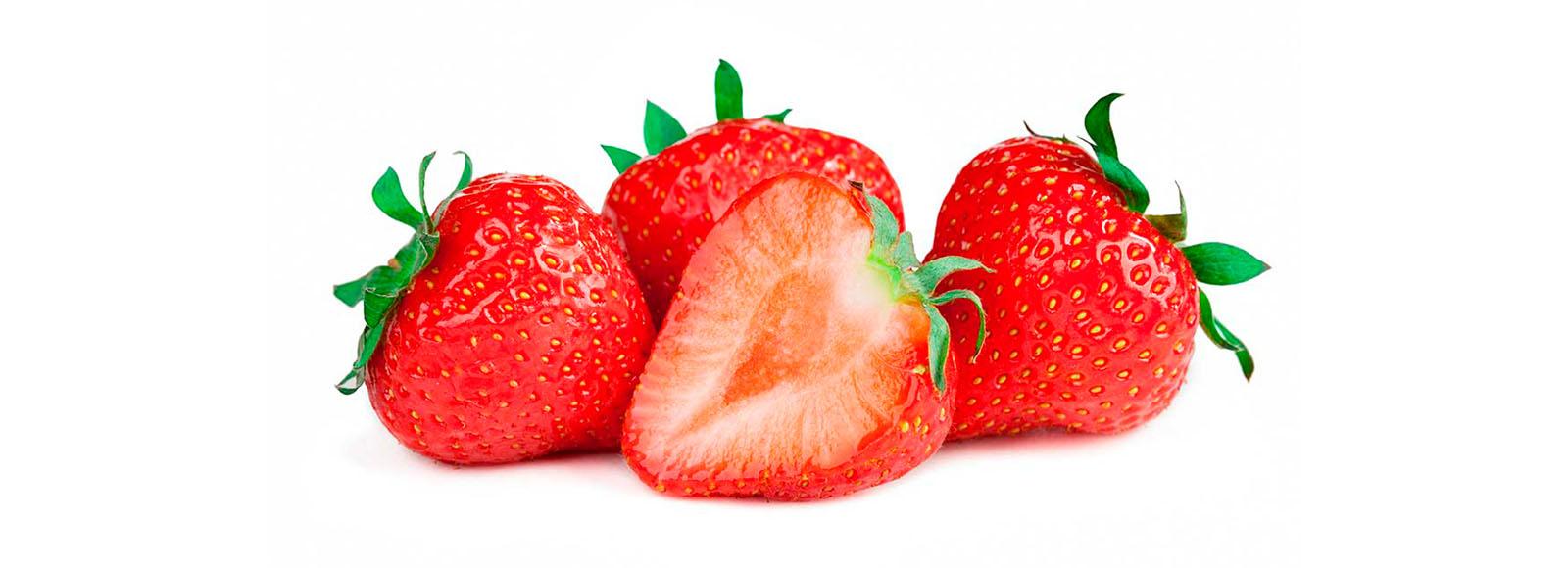 Las fresas y fresones propiedades y sus beneficios